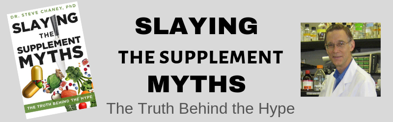 Slaying the Supplement Myths